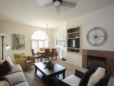 Photo for Beautifully decorated two bedroom condo at Legacy Villas.
