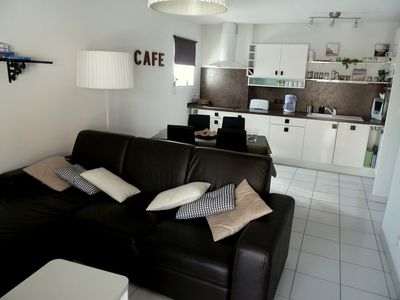 Photo for BEACH OF HUME T3 with TERRACE, SWIMMING POOL and SECURE PARKING CLASS 3 *