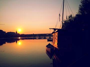 ♥LUXURY HOUSEBOAT or SELF-CATERING APARTEMENT WITH AMAZING VIEW