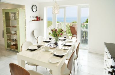 Photo for Holiday house in Niton village with spectacular views over the Isle of Wight's southern coastline.