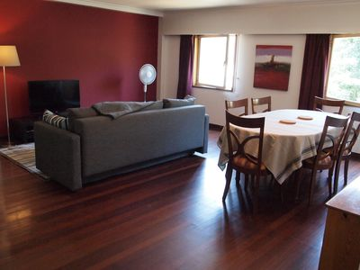 Photo for Spacious apartment walking distance to the historic centre of Guimarães