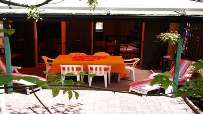 Photo for In the pines House 3 bedrooms- COVERED terrace -1 km Ocean