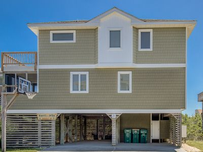 Photo for Nauti and Nice | 320 ft from the beach | Hot Tub, Community Pool | Corolla