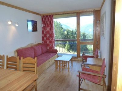 Photo for Apart. 6 p., Arc 1800 Villard, 150m from the slopes, beautiful VIEW, PARKING, household cpris