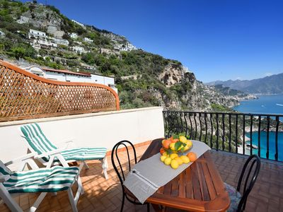 Photo for Villa with magnificent views of the sea and the coast of Amalfi-PARKING