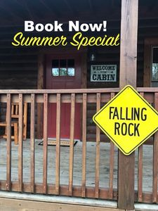 Photo for Falling Rock - So Close You Can Walk to the Parkway