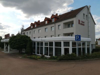 Photo for Hotel room with wellness only 1 km from the motorway between Chemnitz and Dresden