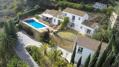 Photo for Feel Good villa with spectacular views on sea and golf! Private Domain & Casita