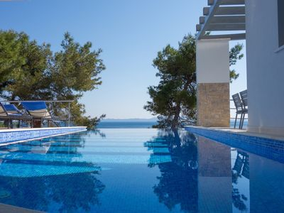 Photo for Large modern holiday villa situated on the south coast of Korčula