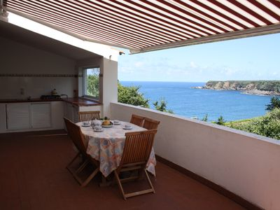 Photo for Fully furnished holiday home with stunning views