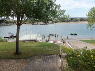 Photo for PRIVATE BOAT RAMP & DOCK / SANDY BEACH / GATED COMMUNITY