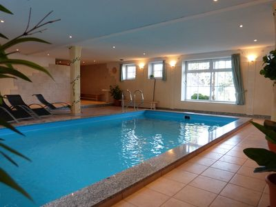 "Photo for Comfortable and exclusive apartment ""Hibiscus"" with indoor pool and sauna"