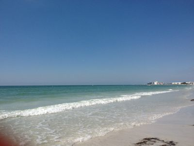 Beach just steps away from the unit:Beautiful St.PeteBeach