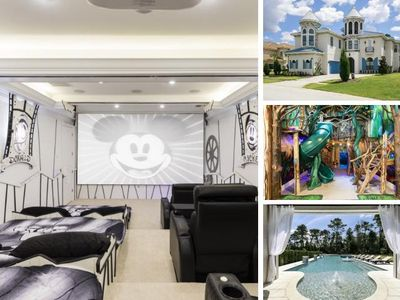 Photo for W306- 8 Br Luxury Mansion With Great Themed Rooms