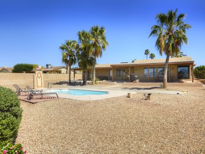 Photo for Beautiful Santa Fe Style Home With Lake View
