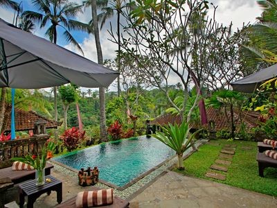 Photo for 2BR Romantic villa with spectacular breathtaking view, Ubud