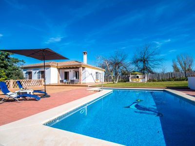 Photo for Cubo's Finca Los Nogales. Swimming pool, garden, BBQ, AC, TV satellite