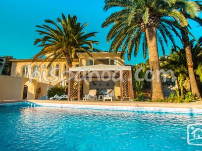 Photo for villa rental for 6 people with private pool in Benissa
