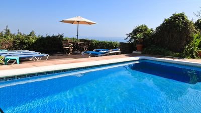 Photo for Spanish Casa ,Fantastic Views and Decked Garden. Big BBQ WI FI and AIR CON