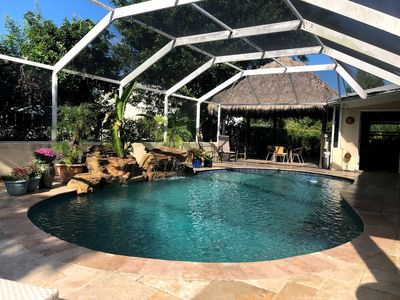 Photo for Hamilton House - Tropical Oasis/Pool/Tiki/Sleeps 20