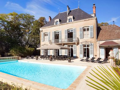 Photo for Chateau De La Marquise Thesut - Country house for 14 people in Lans