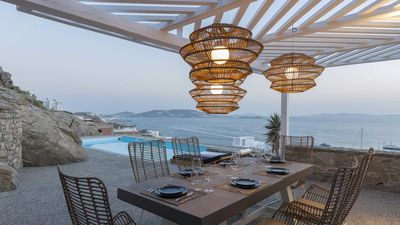 Photo for Modern Luxury Sailing Villas Mykonos 5br upto 11guests Private Pool