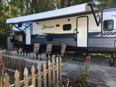 Photo for Cozy Coastal Camper in Orange Beach on permanent lot * 4 miles from the beach