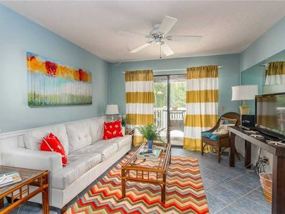 Photo for Oceanfront Condominium with Balcony, Pool and Boardwalk to Beach