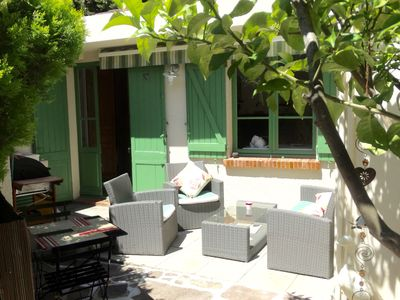 Photo for Comfortable house with garden downtown Sainte Maxime 2 persons