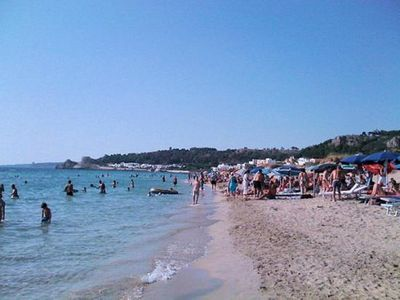 Photo for GALLIPOLI Villetta Le Conchiglie 30 meters from the beach GROUND FLOOR APARTMENT