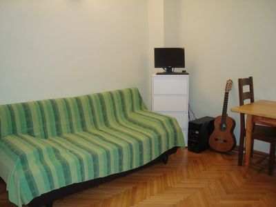 Photo for Sunny apartment with garden and terrace