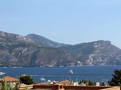 Photo for Lovely 3 bedroom apartment in St Jean Cap Ferrat, gorgeous sea views and pool