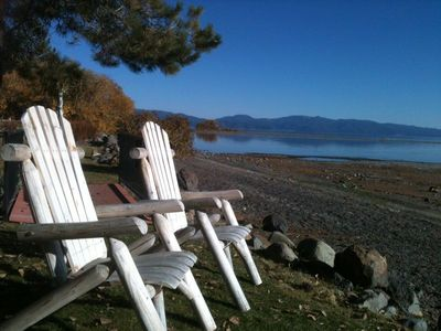 Photo for HOLIDAYS AVAIL! St Francis lake view Townhome,  priv beach HOA pier, pool, nr Tahoe City