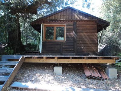 Photo for Authentic wooden cottage in the forest Corsica, for 2-4 persons