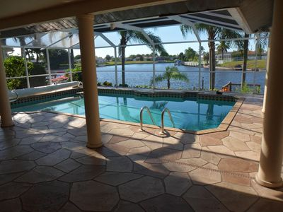 Photo for Waterfront Gulf Access, Pool and Incredible View