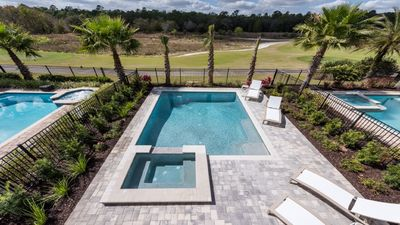 Photo for Brand New 2018 / Free Wifi/ Private pool hot tub/game room/golf view