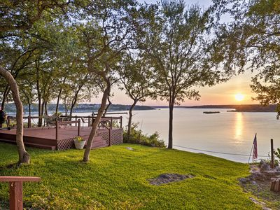 Photo for NEW! Belton Lake Studio w/ Deck on the Waterfront!