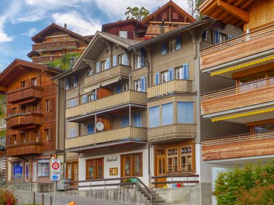 Photo for Apartment Central in Wengen - 4 persons, 2 bedrooms