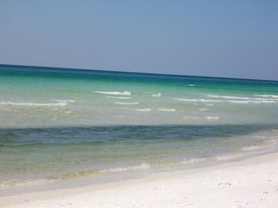 Photo for Affordable Beautiful beach getaway, only 45 seconds from sugar sand beaches!