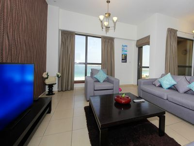 Photo for Spacious 3 BR SEA VIEW JBR 51004