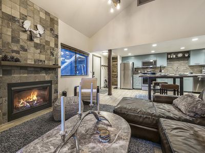 Photo for Perfect Red Pine Condo w/Modern Lodge Decor - By PADZU