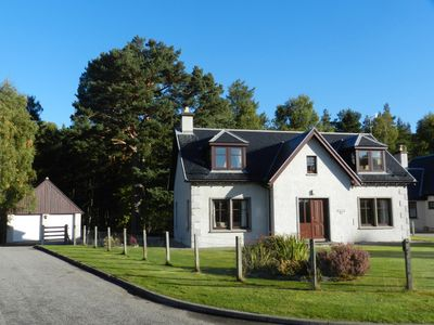 Photo for Dunedin - Highland Holiday Homes. 4 bedroom house in Nethy Bridge