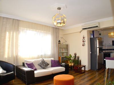Photo for Quiet Sunny Spacious 1+1 Loft on Istiklal @ Taksim Square