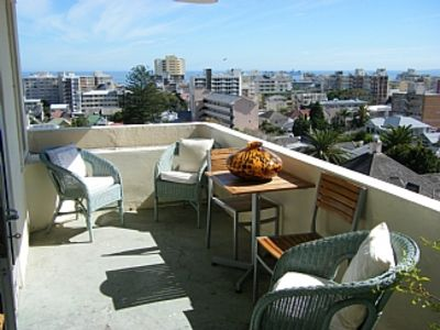 Photo for Top Corner Apartment With Views To Robben Island And Table Mountain