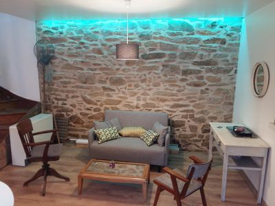 Photo for charming cottage 100m from the beach and the spa!