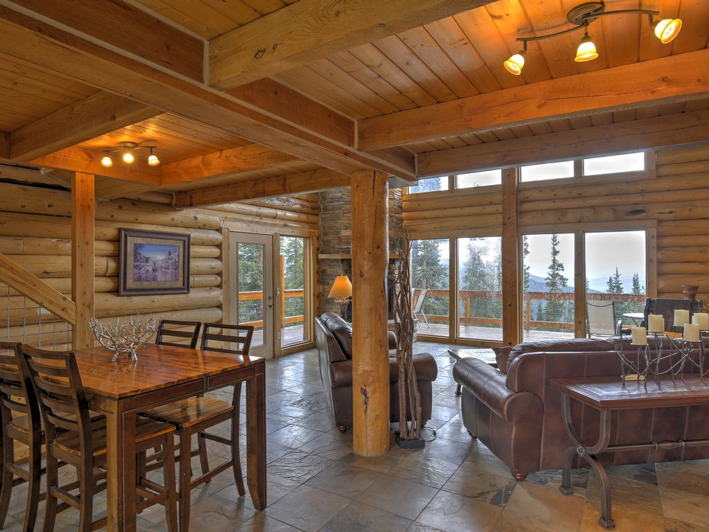 Luxurious 3br Breckenridge Cabin W Hot Tub Mtn Views