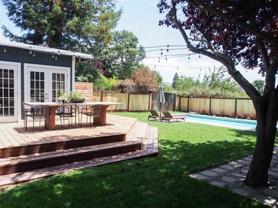 Photo for Luxury, modern, totally renovated Sonoma getaway - Pool, easy walk/bike to Plaza
