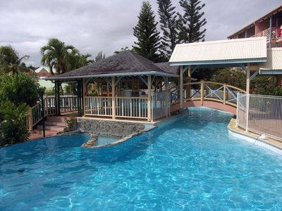 Photo for Comfortable air-conditioned studio, decent price, pool, beach