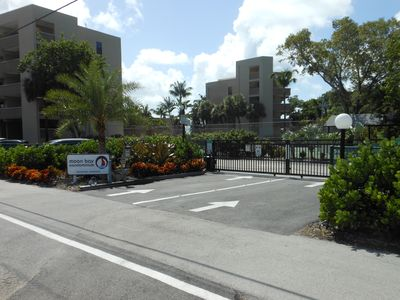 Front Gate entrance to Moon Bay
