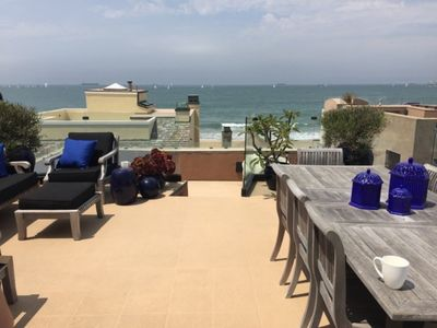 Photo for PRIVATE BEACH LIVING IN SEAL /HUNTINGTON BCH AREA-50' FROM SAND